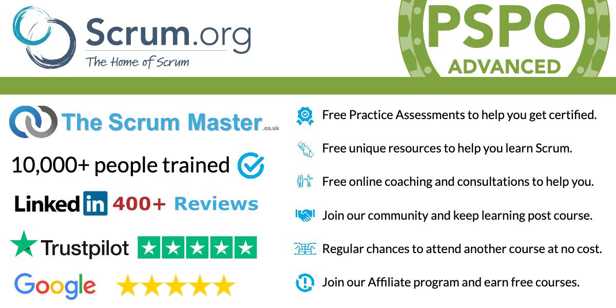 TheScrumMaster.co.uk PSPOA