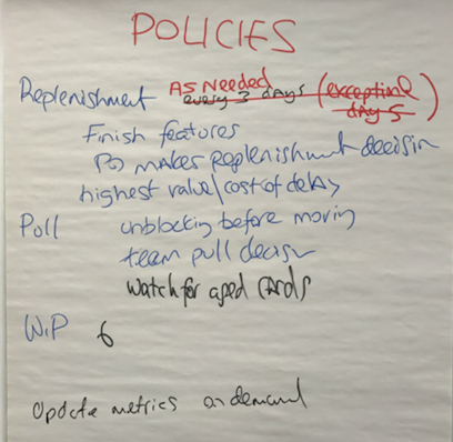 policies from an older simulation