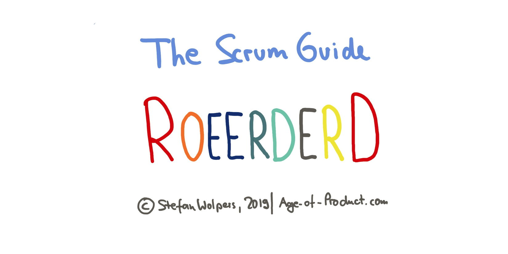 The Scrum Guide 2020 Reordered