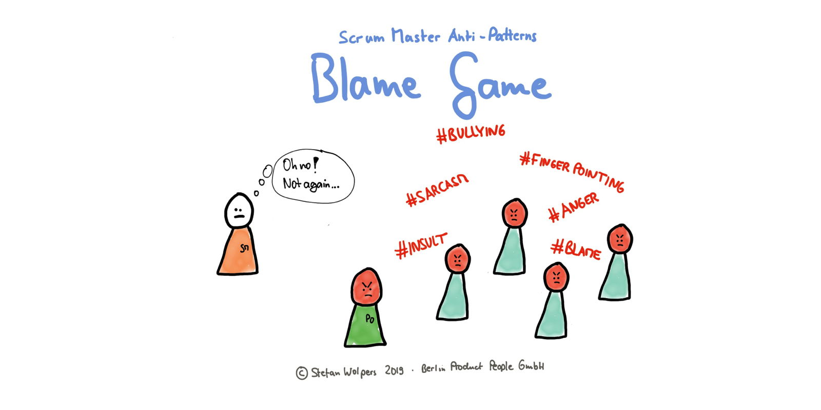 Scrum Master Anti-Patterns — Blame Game