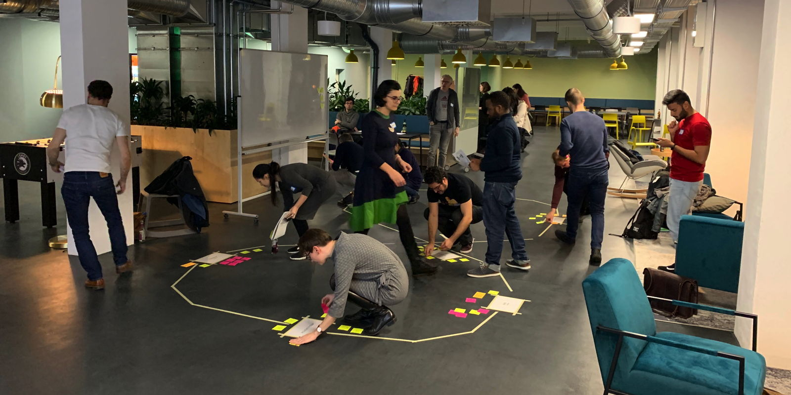 Ecocycle Planning to Identify Scrum Master Opportunities at Smava, Berlin 11/2019