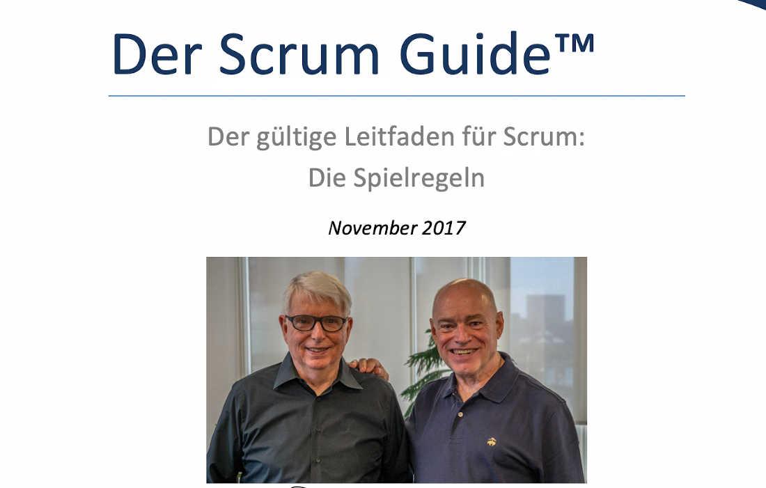 Scrum Guide 2017 Cover Picture
