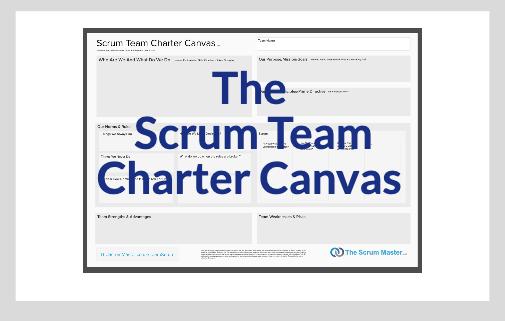 The Scrum Team Charter Canvas