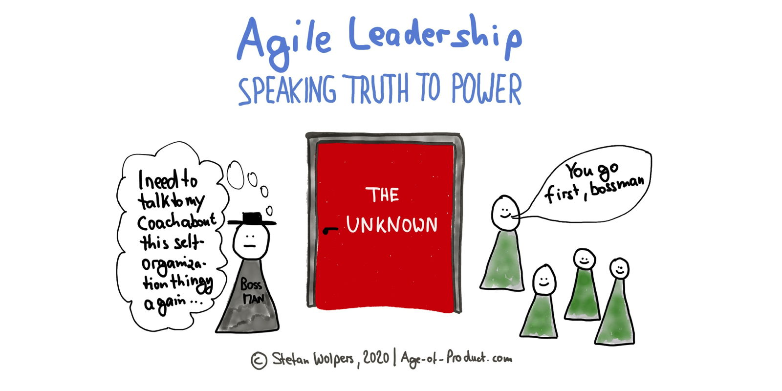 Speaking Truth to Power 2.0 — Agile Leadership