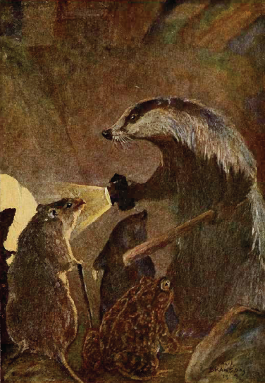 Badger et al, The Wind in the Willows