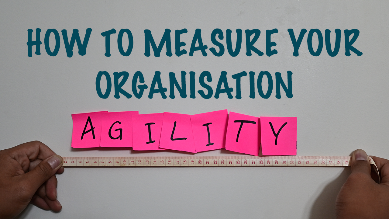 How to Measure Your Organisation Agility