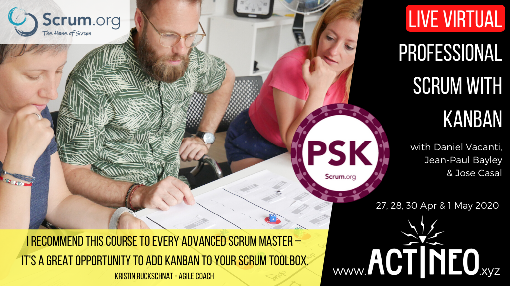 Course Banner - Live Virtual PSK class on 27, 28, 30 Apr & -1 May 2020