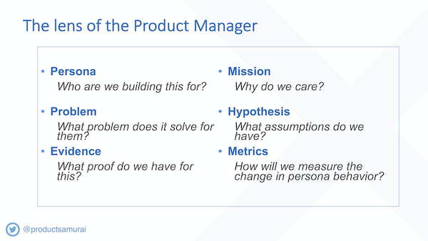 Product Owner lens