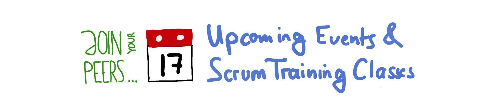 Professional Scrum Master Training — Training Class Schedule