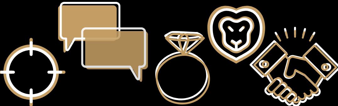 Scrum Values Icons