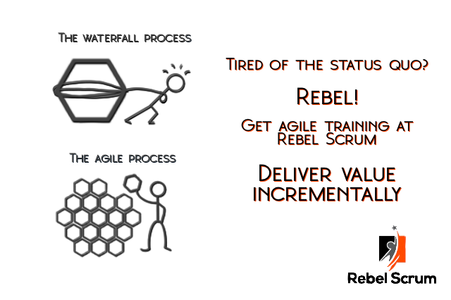 Tired of the status quo?  Rebel!  Get training at RebelScrum.site