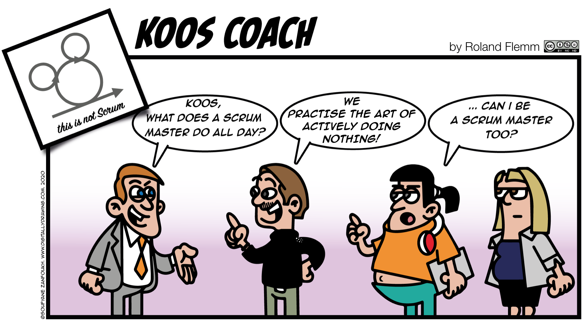koos coach actively doing nothing