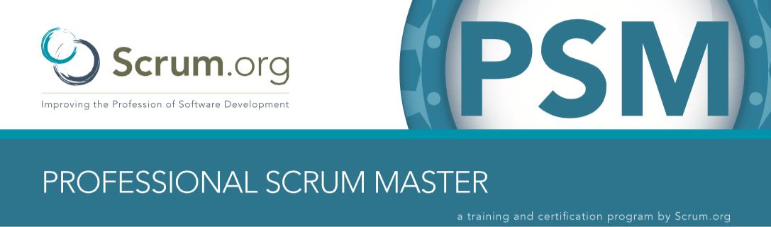 Professional Scrum Master Scrum