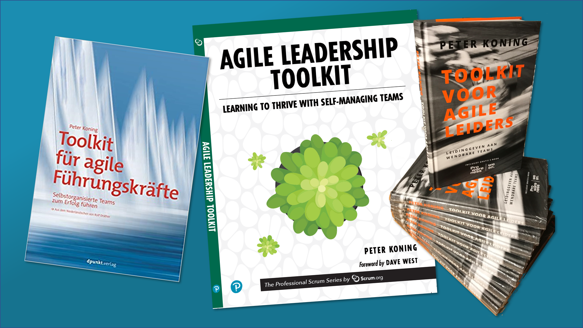 Agile Leadership Toolkit in three languages