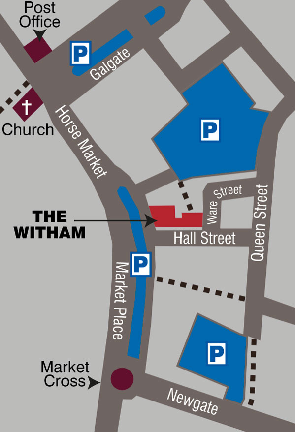 Witham location, 3 Horse Market, Barnard Castle, DL12 8LY