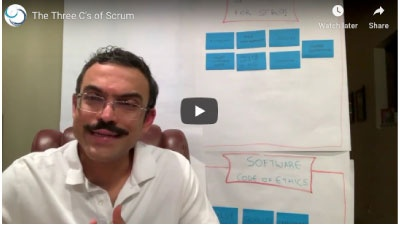3 Cs of Scrum